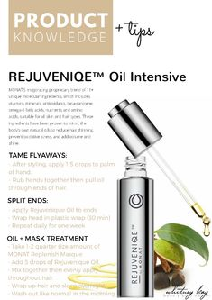 Have some extra time to yourself this evening? Experience some luxury with MONAT REJUVENIQUE OIL at home. Understand first how the oil can work for your hair along with 3 of my favorite tips and uses. My Monat, Monat Hair, Monat Rejuveniqe Oil, Monet Hair Products, Monat Before And After, Business Hairstyles, Oil Uses, Oil Benefits, Dry Shampoo