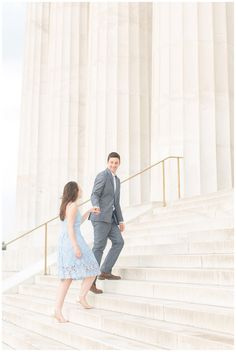 Lincoln Memorial Engagement | Kennedy Center Engagement | Alex & Mitch — Kir Tuben Photography | Virginia Wedding Photographer