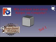 Wie erstellt man einen Körper am Computer? Teil 1 - YouTube Computer, Youtube, Work Shop Garage, Crafting, Youtubers, Youtube Movies