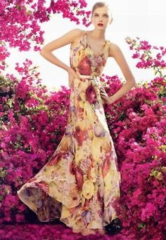 flowers and flower maxi
