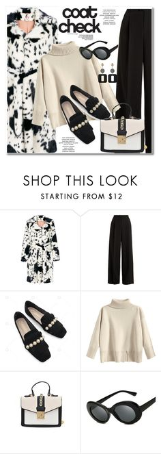 """""""Statement Coats"""" by paculi ❤ liked on Polyvore featuring Shrimps, RED Valentino and statementcoats"""