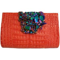 Paige Gamble — Mango Crocodile with Aura (€2.295) ❤ liked on Polyvore featuring bags, handbags, croco handbag, red crocodile bag, croc purse, red bag and red croc handbag