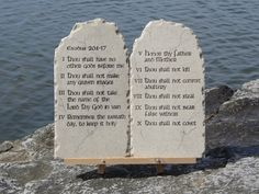 What Are the 10 Commandments in Order | David Weeks: The Ten Commandments