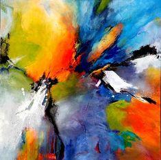 """artoffer – Kunst von Agnes Lang Bild Grossansicht """"Summertime"""""""