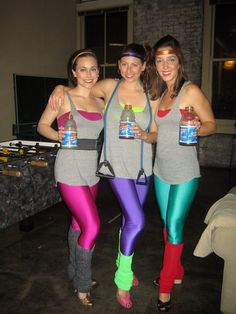 1980s Aerobics Dance Team