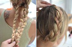 milkmaid braid <3