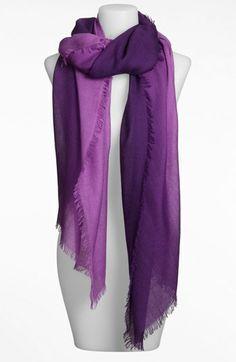 Nordstrom Ombré Eyelash Cashmere & Silk Wrap | Nordstrom