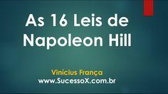 As 16 Leis de Napoleon Hill