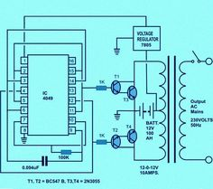 Circuit Diagram of Solar Inverter for Home | How Solar Inverter Works?