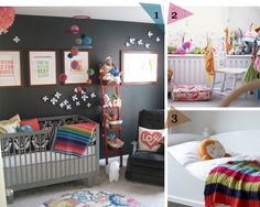 Bright nursery inspiration! Babies don't have to be bland!