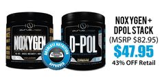 We've got a crazy deal on this stack from Purus Labs ! Yep, 43% OFF retail! And it's Absolute Nutrition approved, so you KNOW it's going to work!