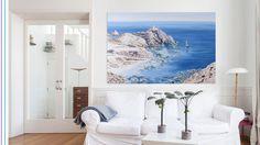 Óleo sobre lienzo. 150x200cm Almeria . Como soñar con el mar en tu casa.