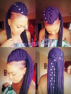 Crochet Hair Shaved Sides : ... hairstyles on Pinterest Cornrow, Shaved Sides and Crochet Braids