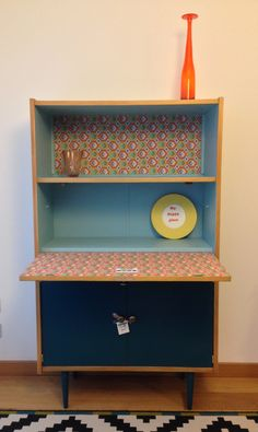 Tv Ikea, Ikea Hack, Ikea Office, Mid Century Sideboard, Study Nook, Painted Furniture, Living Spaces, Bookcase, Design Inspiration