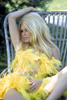 Yes #BB #BrigitteBardot You already known yellow is so #fashion