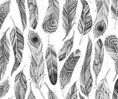 Feather gift wrapping on Behance