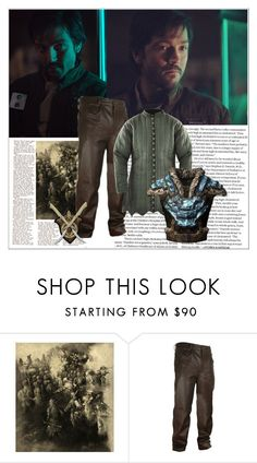 """Diego Luna"" by danicathorne ❤ liked on Polyvore featuring Marmont Hill"