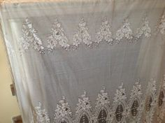 Irish Lace Curtains From Ireland Vintage Lace Curtains