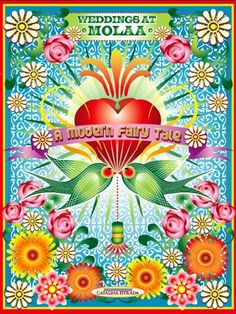 Catalina Estrada - love the flower graphics