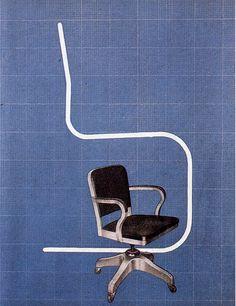 Remo Muratore for Kardex, 1940 Studio Boggeri