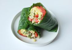 Nothing but healthy carbs in this quick and easy wrap