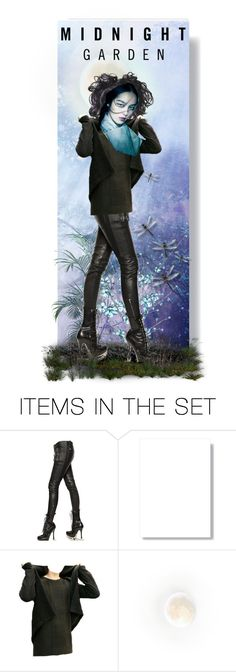 """""""Midnight garden"""" by riri-thatsme ❤ liked on Polyvore featuring art"""