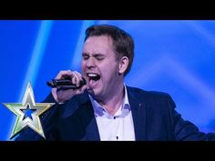 """When """"Ordinary"""" Soccer Dad Sounds Amazingly Like Elvis, The Judges Are Forced To Hit The Golden Buzzer – Charliese News Got Talent Videos, Talent Show, America's Got Talent, Music Songs, Music Videos, Louis Walsh, Celtic Thunder, Shocking News, Amazing Songs"""