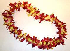 500 Leis Flower Necklace Hawaiian Hawaii NECKLACE CHAINS Flashy Pink Flower Necklace