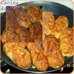 Cacina kuhinja: Riblji ustipci