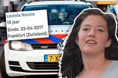 De politie heeft nieuwe bewakingsbeelden vrijgegeven van de vermiste Duitse tiener Lavinia Nouira. Het 16-jarige meisje uit Frankfurt is op Koningsdag voor het laatst gezien in Amsterdam.
