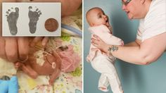 """""""After Francesca was born, nurses actually gave me a memory box, which they do for babies that die at birth,"""" her mom said. Baby Beat, Miracle Stories, Premature Baby, Survival, Babies, Amazing, Health, Babys, Health Care"""