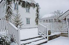 Vakkert vinterhvitt