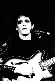 Today the world lost a legend. #RIP #lou #reed