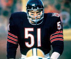 Dick Butkus. My dad's favorite Bear