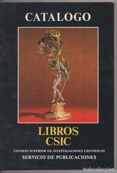 CATÁLOGO LIBROS CSIC CONSEJO SUPERIOR DE INVESTIGACIONES CIENTÍFICAS 1987 FOTO CHRISTIE´S