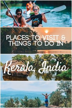 Planning a trip to Kerala, India? Discover all the best things to do and most awesome places to visit in Kerala with this ultimate Kerala bucket list! Including backwater cruises, tea plantations, hikes with epic views and much more! #kerala #india #asia #keralablogexpress