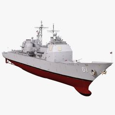 USS Monterey Model Model available on Turbo Squid, the world's leading provider of digital models for visualization, films, television, and games. Ticonderoga Class, Us Navy Ships, Us Coast Guard, Army & Navy, Battleship, Water Crafts, Fighter Jets, Aircraft, Military