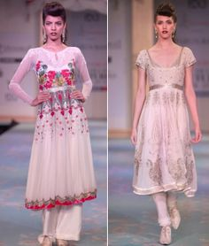VARUN BAHL'S INDO-FRENCH BRIDE AT DELHI COUTURE WEEK 2011