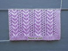 Baby Knitting Patterns, Knitting Stiches, Knitting Videos, Easy Knitting, Knitting Designs, Baby Patterns, Crochet Gifts, Knit Crochet, Crochet Pattern