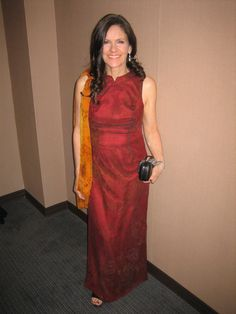 2-11 Betsy Franco, ready to walk the Red Carpet at the Academy Awards.