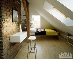 Moderní ložnice inspirace - Rekonstrukce půdního prostoru - Favi.cz
