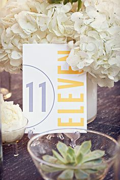 modern table numbers for your reception today that are clean, bold, and stylish: perfect for your modern wedding. These beautiful modern table numbers. Diy Wedding, Wedding Reception, Wedding Ideas, Table Wedding, Wedding Beauty, Reception Ideas, Wedding Blog, Wedding Stuff, Carillon Beach