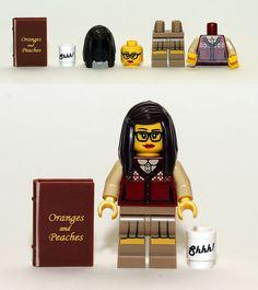LEGO Librarian.