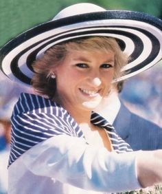 Diana in Australia 24 Jan 1988