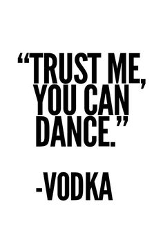 Vodka Poster Typography Poster wall decor Mottos by mottosprint