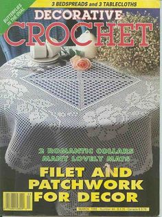 Decorative Crochet Magazines 30 - Gitte Andersen - Picasa Web Albums