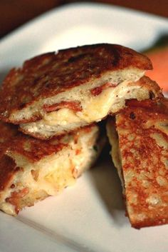 Barefoot Contessa's ultimate grilled cheese sandwiches. Court and I made these last weekend and I think this sandwich changed my life. It's that good.
