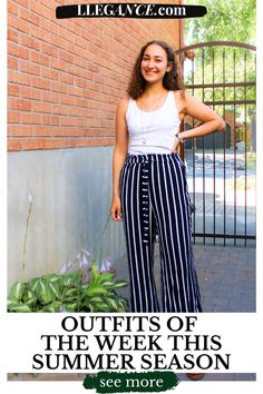 Click here to learn about Outfits of the week this summer season on Llegance! You'll find pins about summer outfits 2020, summer outfits women over 40. Additionally, summer outfits women 30s, summer outfits plus size. As well as, women summer outfits over 40, women summer outfits 30s. Also, women summer outfits 2020 and women summer outfits casual. Stylish women summer outfits plus size, women summer outfits for work. Cute women summer outfits vacations.  #outfits #summer #fashion Casual Summer Outfits For Women, Summer Work Outfits, Office Outfits, Casual Outfits, Corporate Fashion, Weekly Outfits, Summer Lookbook, Professional Outfits, Dress For Success