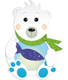 Laternenbastelset Eisbär