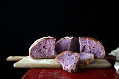 "Makes: One 8 1/2"", or 22cm loaf The length of the instruction has nothing to do with the addition of purple yam. It's long because I'm including a lot of details of what I had learnt from the book - Flour Water Salt Yeast - which can be applied to all types of... #boule #countrybread #europeanbread"